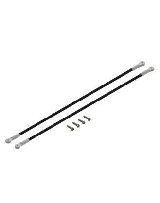LX1367 - 180CFX - Ultra Tail Boom Support - Silver