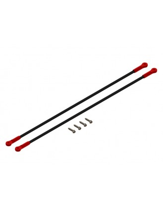 LX1368 - 180CFX - Ultra Tail Boom Support - Red