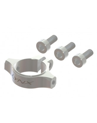LX1377 - 180CFX - Ultra Tail Boom clamp - Silver