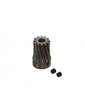 LX1498 - TSA 600-700E Tareq Edition Carbon Steel 12T Slant Pinion
