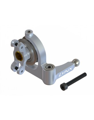 LX1633 - G380 - Precision Tail Bell Crank Lever - Pro Edition - Silver