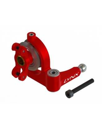 LX1634 - G380 - Precision Tail Bell Crank Lever - Pro Edition - Red