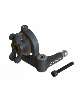 LX1635 - G380 - Precision Tail Bell Crank Lever - Pro Edition - Black