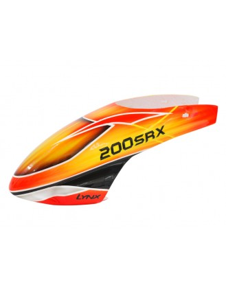 LX200SRX012 - 200SRX - Air Brushed- Fiber Glass Canopy - STD Profile - Schema #02