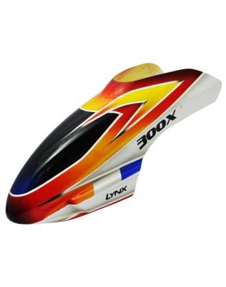 LX300X015 - 300 X - Air Brushed - Fiber Glass Canopy - STD Profile - Schema #05