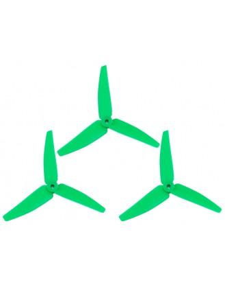 LX3P200SRX-822 - 200SRX - Lynx Plastic 3 Bladed Propeller 82 mm - Green Neon