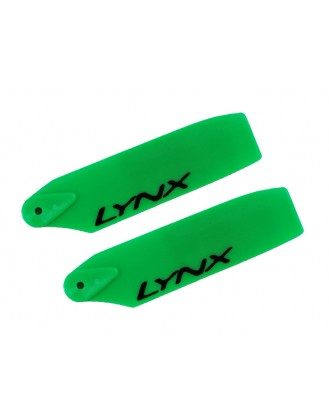 LX60822 - Plastic Tail Blade 82 mm - Green