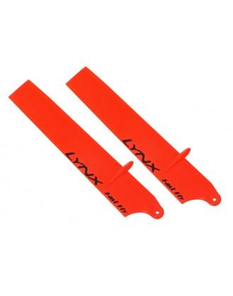 LX60851-SP - NANO CPX - Lynx Plastic Main Blade 85 mm - Bullet - Orange Neon