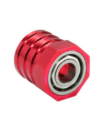 Aluminum InnerShaft Bearing Housing (RED) - BLADE CX4 Model #: MH-CX4127