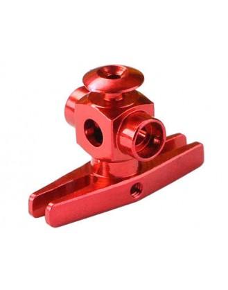 Precision CNC Aluminum Main Rotor Hub (RED) – BLADE MSR Model MH-MSR165