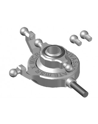 Precision CNC Aluminum Swashplate – BLADE MSRX Model MH-MSRX012