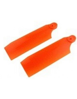 Tail Rotor 59.6MM Neon Orange 450 Size KBDD4009