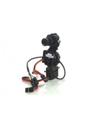 Fat Shark 600TVL FPV CMOS with PAN/TILT SERVOS FS-1202