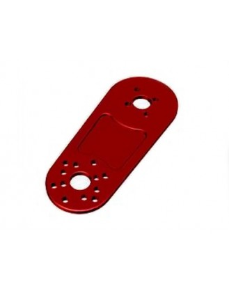 ANODIZED ALUMINUM MOTOR EXTENSION PLATE FOR DJI FW450/550 – RED [PS1-PLTRED]