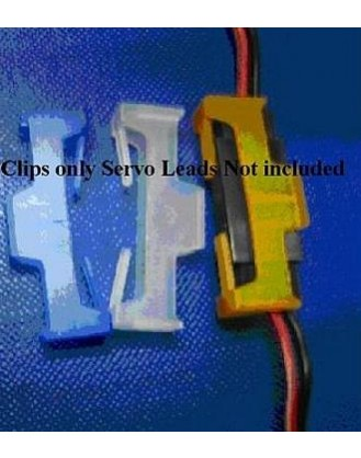 ORION PRODUCTS SERVO SAFETY CLIP (10PCS) GRAY [OR-SCLIP-S]