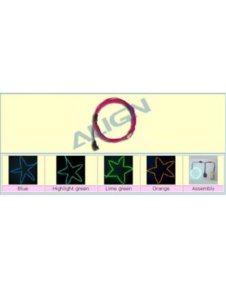 ALIGN COLD LIGHT STRING (1M) LIME GREEN [BG78002-3]