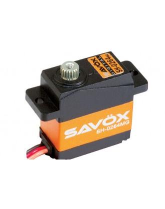 SAVOX SH-0264MG SUPER TORQUE METAL GEAR MICRO DIGITAL SERVO-SAVSH0264MG [SV-SH0264MG]