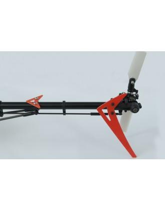 LX0348 - 300 X - Vertical Fin Set - G10 Orange