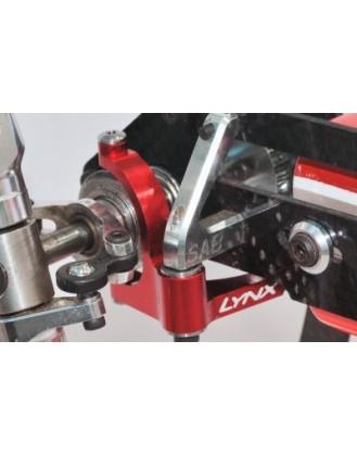 LX0614 – GOBLIN 500 – Precision Tail Bell Crank Lever – Red Devil Edition